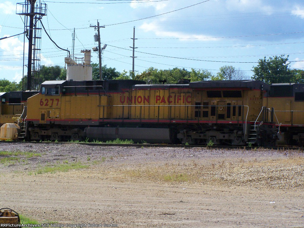 UP 6277 Hangs Out in the UP Yard