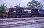 NS 5434 leading another ex con on NB freight
