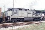 NS 8463 ex conrail Ballast express