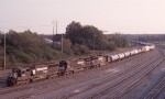 NB freight heading into Brosnan Yard
