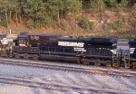 NS 8870 on NB freight