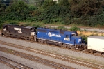 NS 251: not exactly glamorous power for the hot roadrailer of the day!!!