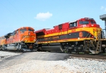BNSF 9239/ KCS 4055 mirror mirror on the wall,who is the prettiest of them all