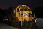 Here's the first of two shots I made of BNSF GP38 2223 at dawn
