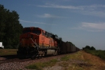 BNSF 5946 draws pusher duty on this coal train