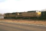 Super power pulling a coal train