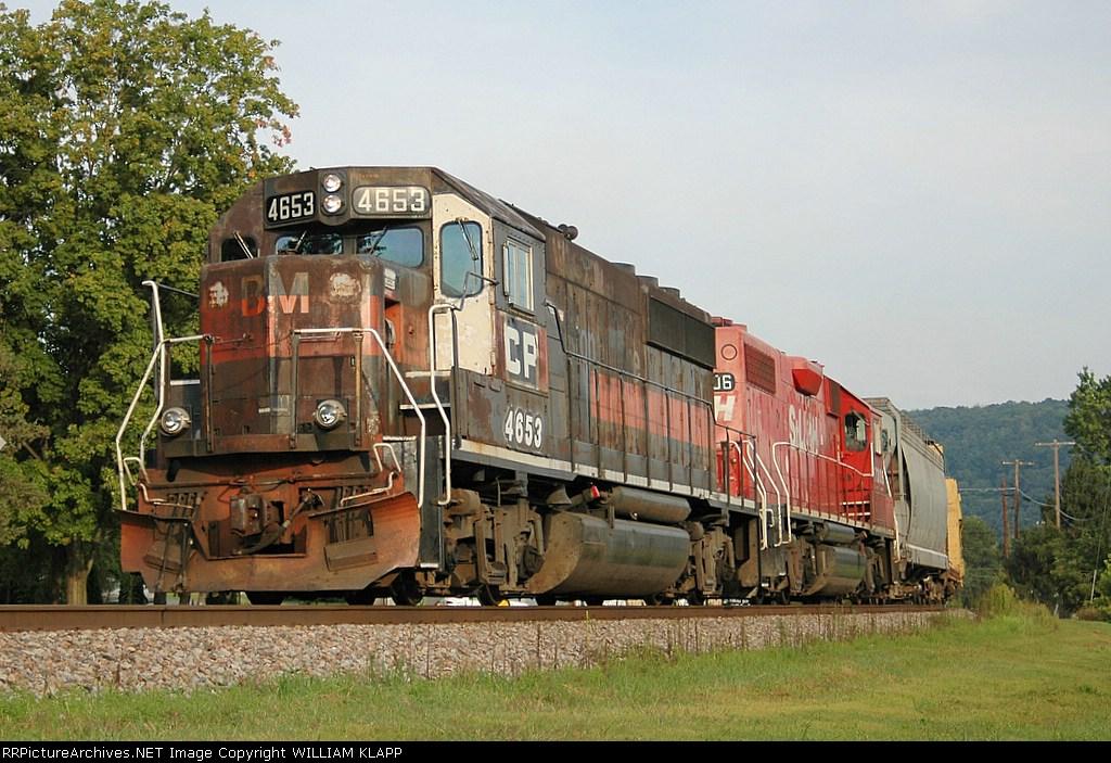 CP 513 Northbound