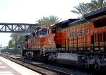 BNSF 853 and 4558 DPU's