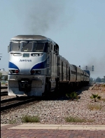 Pacific Surfliner with Amfleet cars