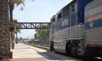 Amtrak F59PHI 456 and Baggage 1228