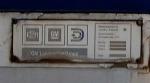 ID Plate on Amtrak F59PHI 457
