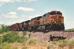 BNSF Westbound Stack Train