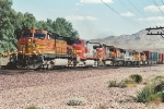 Westbound Stack Train with 8 Units