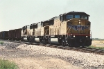 Eastbound hopper train with 3 SD60Ms