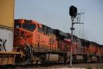 BNSF 7794 Closeup