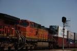 BNSF 4737 pusher
