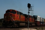 BNSF 5342 clears the signals