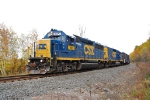CSX B785 returning to Massena