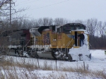 UP 8320 Gets the Snow & Ice Removal Treatment