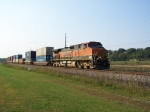 BNSF 1087 Was the Only Power on this Doublestack Train