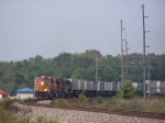 BNSF 7720 Leans into the Curve