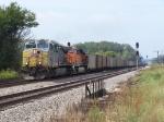KCS 4593 Slowly Leads a Coal Train East at Murphy
