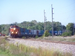 BNSF 1072 Rounds a Curve