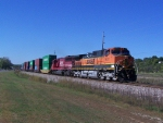 BNSF 1072 & the Third SOO SD60 on the Line Today!