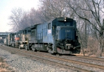 D&H U-33-B #2918 (ex CR same #) leads a Philly bound freight