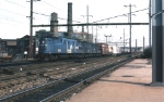 Old Rivets 4800 Leads a freight at Frankford Junction