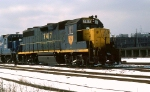 D&H GP-39-3 #7417 Leads a freight at 23 rd & South Sts.