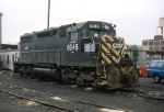 CR (ex CNJ) SD-35 #6046 sits in the yard at Port Richmond