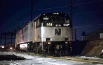 NJT E-60-CP #958 sits at Frankford Junction