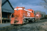 OCTR (ex TPW RS-2 #205 sits in the yard