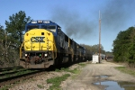 CSX 8775 at East Junction in Hamlet, NC.