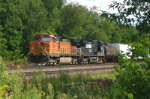 BNSF 4530 Awaits Clearance To Proceed