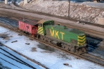 MKT 56 & Caboose 1 on a cab hop