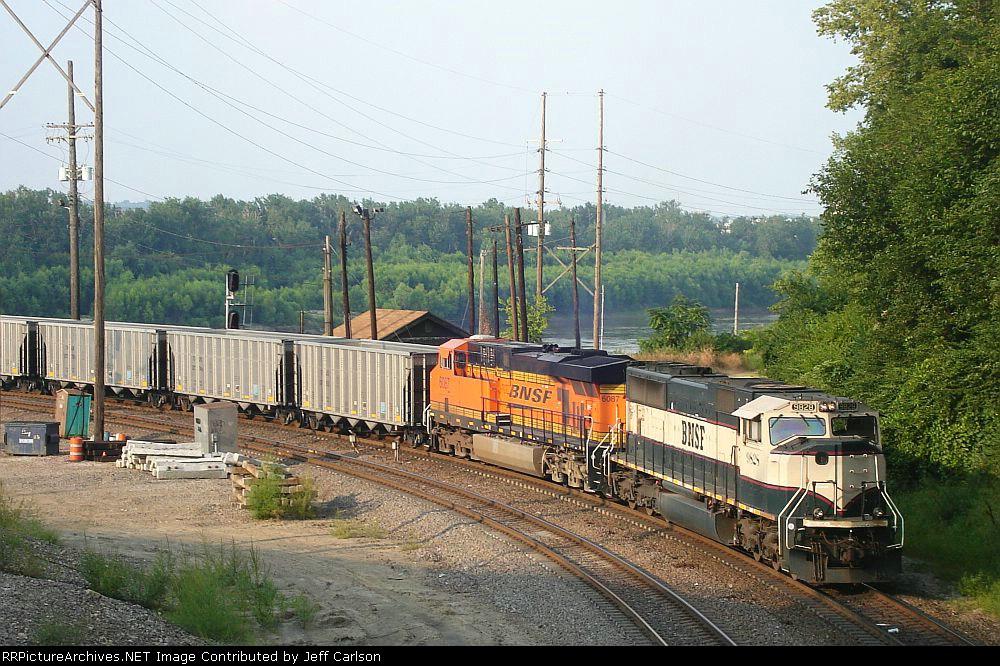 BNSF 9828