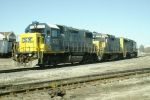 CSX 2773, 2296 and  6908