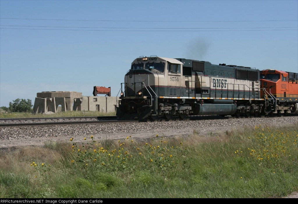 9754 passes the ruins of on the Potash reduction plants