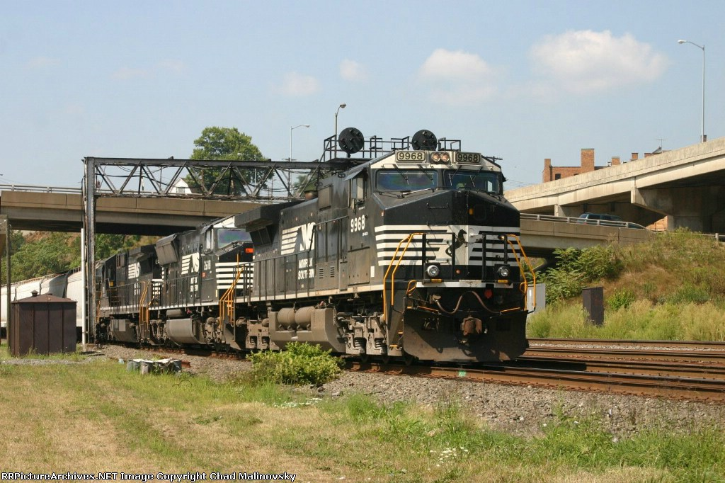 NS 9968 nears the end of his journey