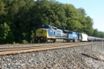 CSX 7376 leads ethanol empties west