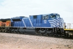 CITX SD-70M-2 #141 is in the middle of a consist
