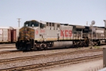 KCS AC-4400CW #2040 leads a westbound out of the yard