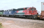 FXE SD-40-2 # 3174 is third out in this westbound consist
