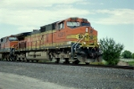 BNSF C44-9W #4391 leads a southbound