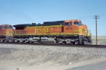 BNSF C44-9W 4474 leads an eastbound