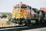BNSF C44-9W #4601 is cruising with an eastbound