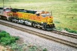 BNSF C44-9W #4724 leads a westbound (shot from the old Rt.66 OHB)