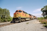 BNSF C44-9W #4794 leads a westbound at Jarales Rd.